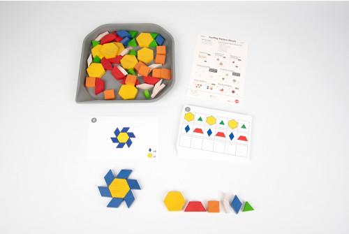FunPlay Wooden Pattern Blocks