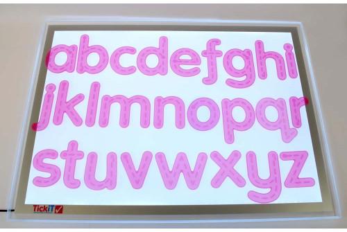 SiliShapes® Trace Alphabet - Pk26
