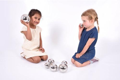 Sensory Reflective Sound Balls - Pk7