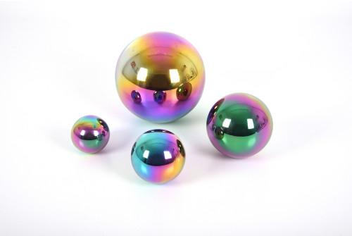 Sensory Reflective Colour Burst Balls - Pk4