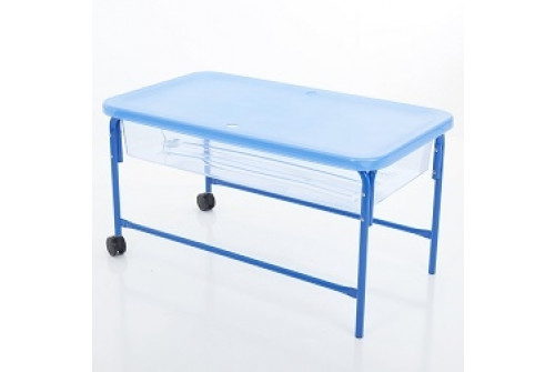 Clear Water Tray - 58cm Blue Stand