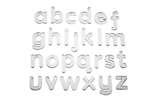 Mirror Letters Lower Case - Pk26
