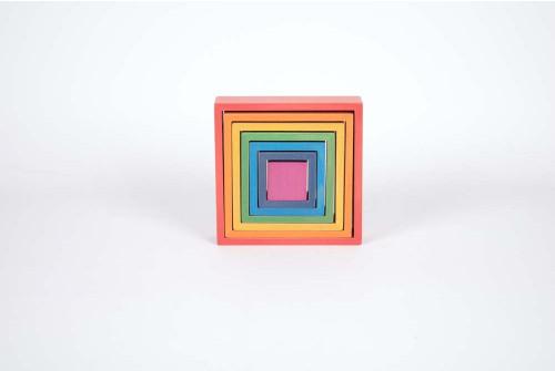Rainbow Architect Squares - Pk7