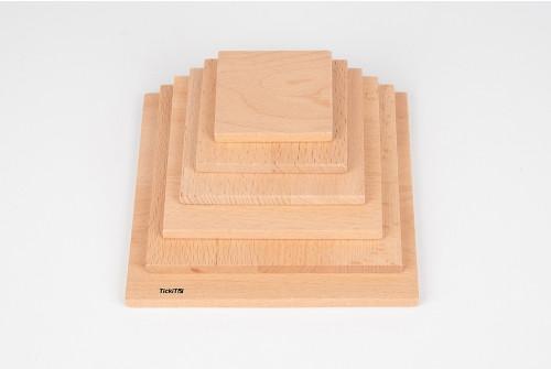 Natural Architect Square Panels - Pk6