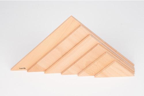 Natural Architect Triangular Panels - Pk6