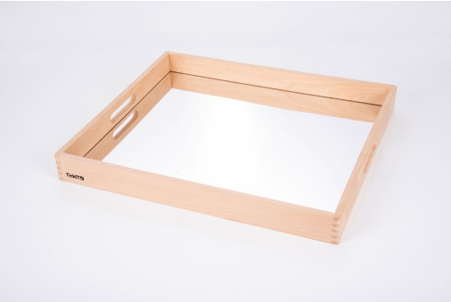 Wooden Mirror Tray