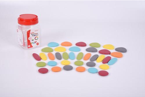 Junior Rainbow Pebbles® Earth Colours - Pk36