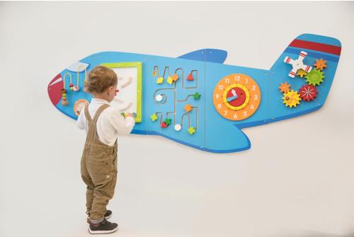 Aeroplane Activity Wall Panels