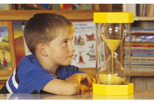 Mega Sand Timer - 3 Minute (Yellow)