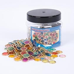 Metal Counting Chips Tub - Pk500
