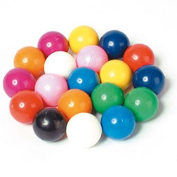 Magnetic Coloured Marbles - Pk20