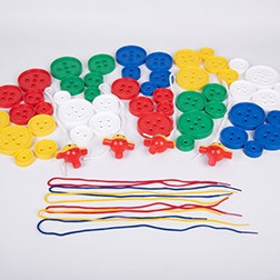 Giant Lacing Buttons - Pk54