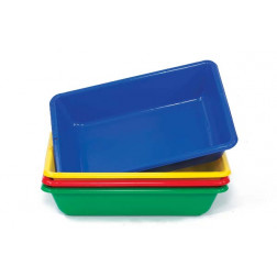 Colour Sand & Water Trays - Pk4