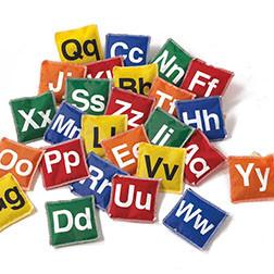 Alphabet Bean Bags - Pk26