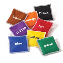 Colour Name Bean Bags - Pk8