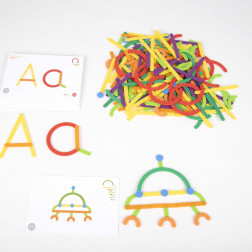 GeoStix Letter Construction Set