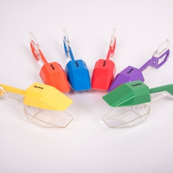 Rainbow Tongs - Pk6