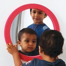 Softie Round Wall Mirror
