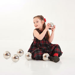 Sensory Reflective Mystery Balls - Pk6