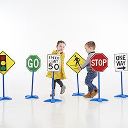 Traffic Sign Set - Pk6