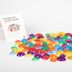 Transparent Tactile Shells - Pk108