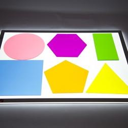 Jumbo Colour Mixing Shapes - Pk6