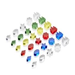 Colour Crystal Treasures - Pk30