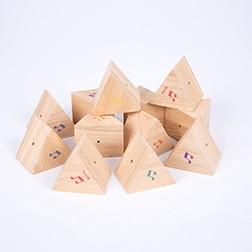Wooden Sound Prisms - Pk12