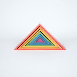 Rainbow Architect Triangles - Pk7