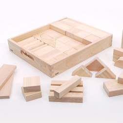 Wooden Jumbo Block Set - Pk54