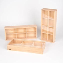 Wooden Discovery Boxes - Pk3