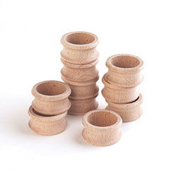 Wooden Napkin Rings - Pk10