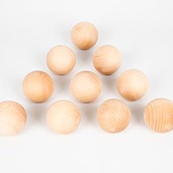 Wooden Balls 60mm - Pk10