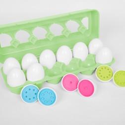 Colour Match Eggs - Pk12