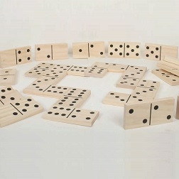 Wooden Dominoes - Pk28