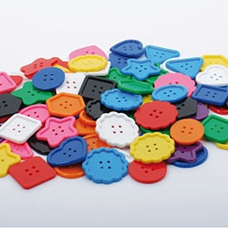 Assorted Large Buttons - Pk90