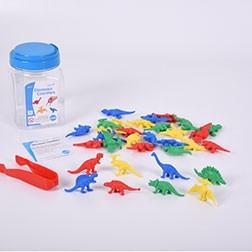 Dinosaur Counters Jar - Pk32