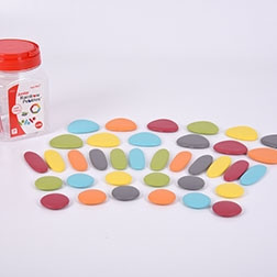 Junior Rainbow Pebbles Earth Colours - Pk36