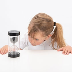 ColourBright Sand Timer - 30 Min. (Black)
