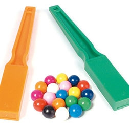 Magnetic Wands & Marbles Set