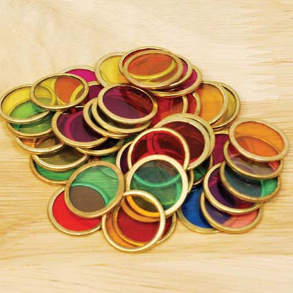 Metal Counting Chips - Pk100