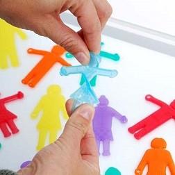 SiliShapes®  Linking People - Pk36