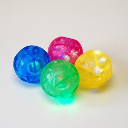 Sensory Flashing Balls (Irregular Bounce) - Pk4