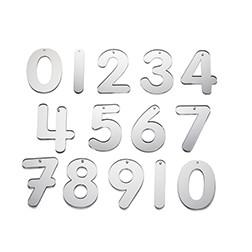 Mirror Numbers 70mm - Pk14