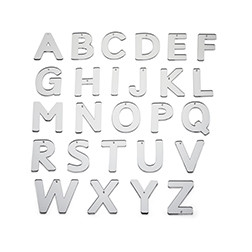 Mirror Letters Upper Case - Pk26