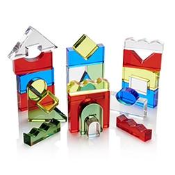 Colour Crystal Block Set - Pk25