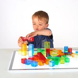 Translucent Colour Blocks - Pk50