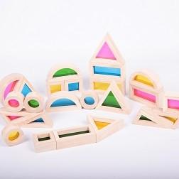 Rainbow Block Set - Pk24