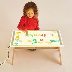 A2 Colour Changing Light Panel & Table Set