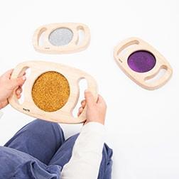 Easy Hold Glitter Panel Set - Pk3